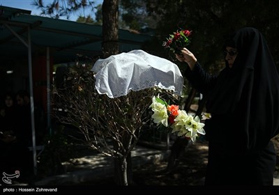 Families of Iranian Martyrs Commemorate Loved Ones ahead of Nowruz