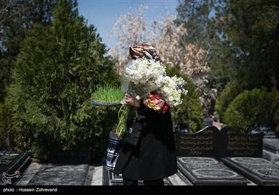 الخمیس الاخیر من العام فی روضة الزهراء (س) فی طهران