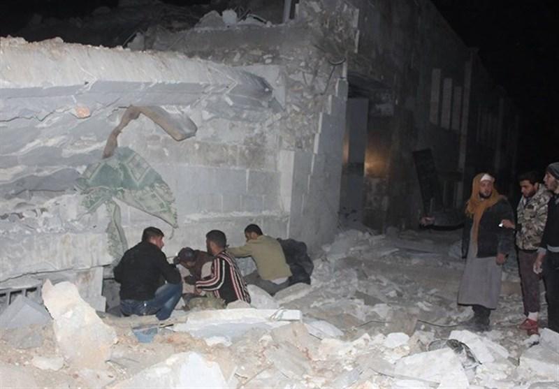 US Airstrike behind Aleppo Mosque Massacre