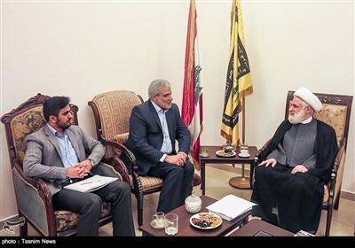 تسنیم کے ڈائریکٹر جنرل کا دورہ لبنان