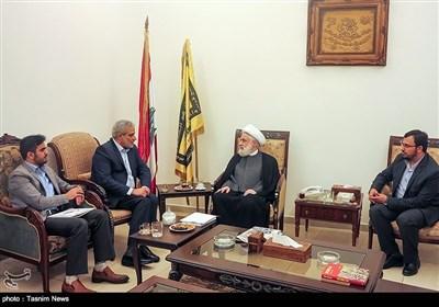 تسنیم کے ڈائریکٹر جنرل کا لبنان دورہ