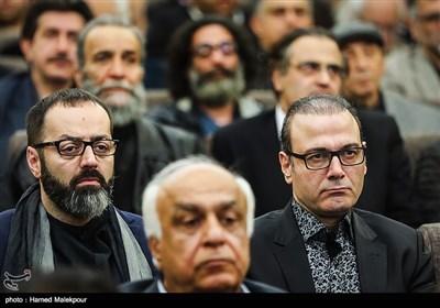 علیرضا قربانی در مراسم یادبود زندهیاد علی معلم