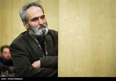 جهانگیر الماسی در مراسم یادبود زندهیاد علی معلم