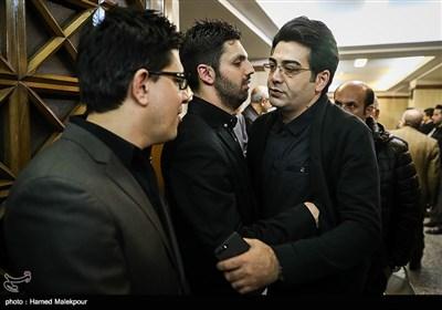 فرزاد حسنی در مراسم یادبود زندهیاد علی معلم