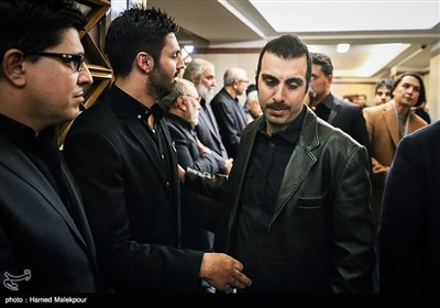 پولاد کیمیایی در مراسم یادبود زندهیاد علی معلم