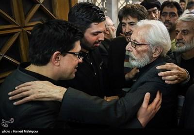 جمشید مشایخی در مراسم یادبود زندهیاد علی معلم
