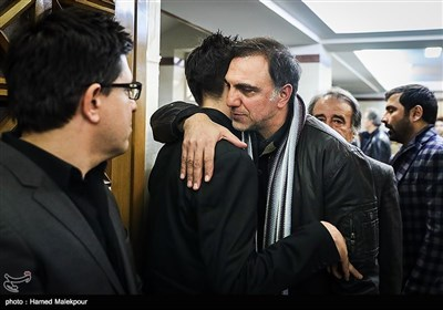 حسن فتحی در مراسم یادبود زندهیاد علی معلم