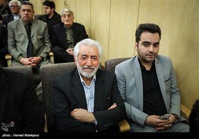 سیدمحمد غرضی در مراسم یادبود زندهیاد علی معلم