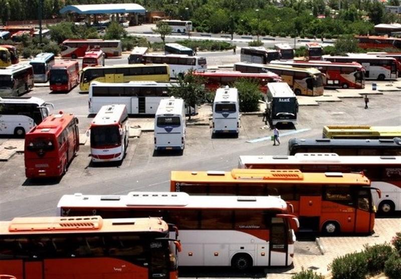500 دستگاه اتوبوس برای انتقال زائران کرمانی پیادهروی اربعین آماده شد