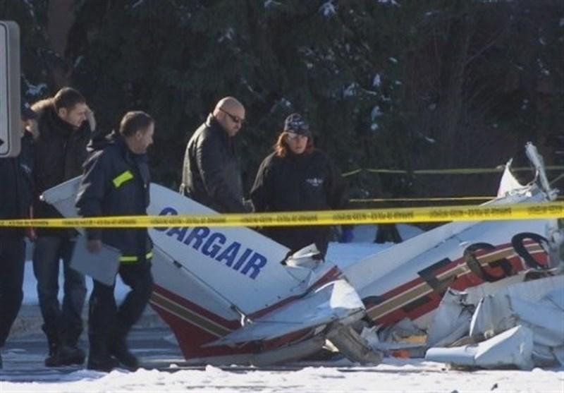 کینیڈا طیارہ حادثہ 3