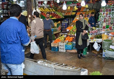 Tehran's Grand Bazaar Thronged with Nowruz Shoppers