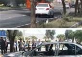آتش زدن ماشین به نشانه اعتراض به عدم سرویس دهی ایران خودرو