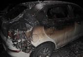 آتش سوزی خودروها در پارکینگ