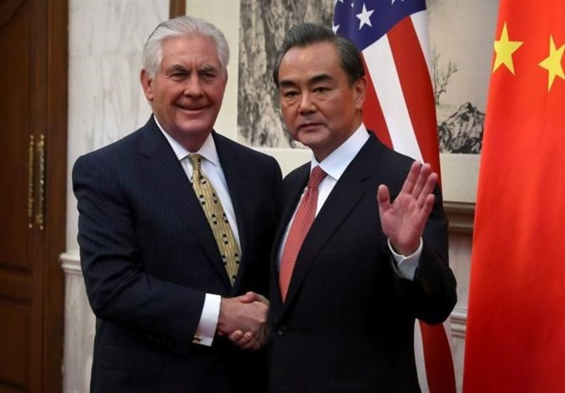 Chinese President Xi Meets US Secretary of State