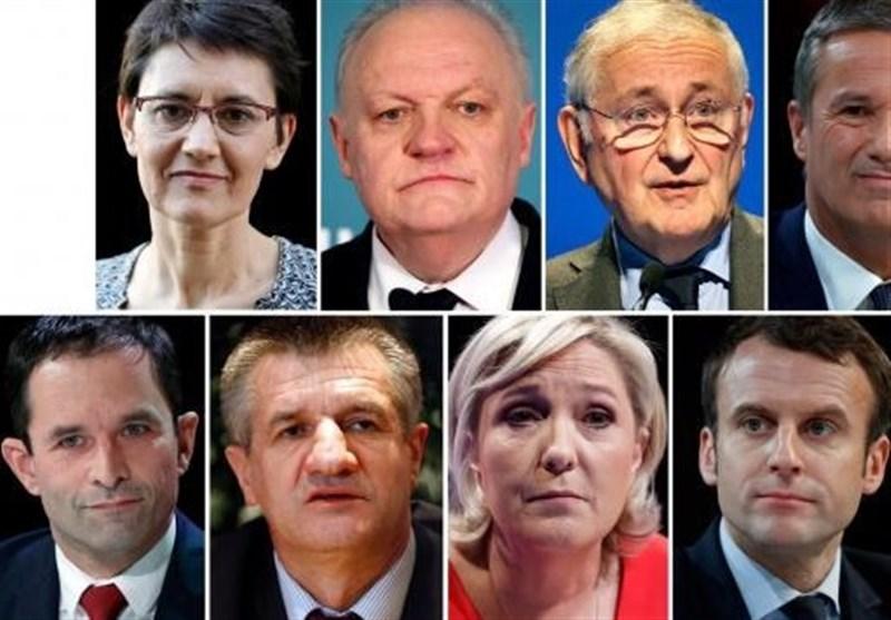نامزدهای انتخابات فرانسه 2017