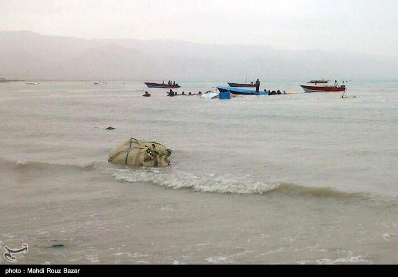 طغیان آب دریا در شهرستان دیر