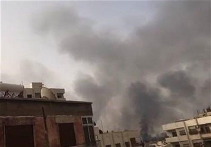 حملات تروریستها به دمشق