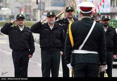تہران پولیس کی عید نوروز کے موقع پر مشقیں