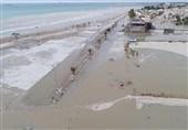طوفان دریایی 510 میلیارد ریال به دیر و عسلویه خسارت زد