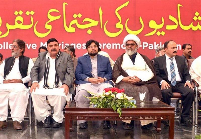 منہاج ویلفیئر کے زیر اہتمام شادیوں کی اجتماعی تقریب سے سیاسی، سماجی رہنماؤں کا خطاب