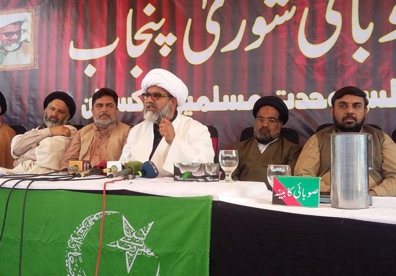 پنجاب میں نیشنل ایکشن پلان کے نام پر پرامن لوگوں کو اغوا کیا جا رہا ہے، علامہ راجہ ناصر عباس جعفری