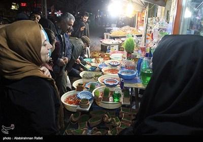 خرید شب عید در همدان