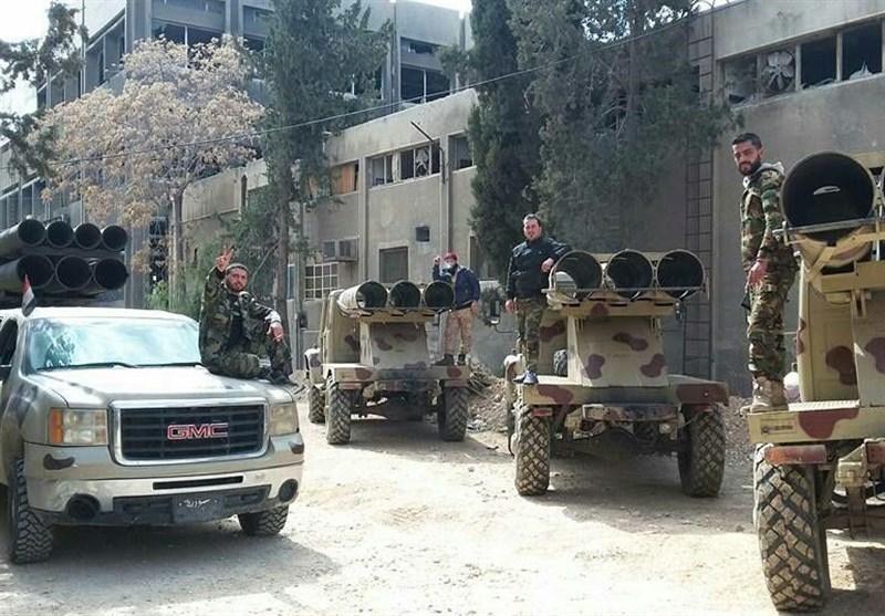 شکست حمله «النصره» به شرق دمشق و تلفات سنگین تروریستها + تصاویر