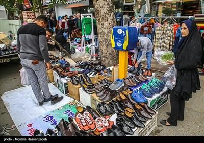 حال و هوای بازار گرگان در آخرین روز سال