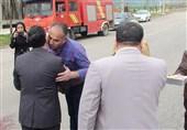 نخستین مسافران نوروزی ورودی استان گلستان استقبال شدند