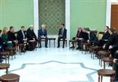 الاسد یستقبل وفدا برلمانیا روسیا وأوروبیا