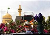 لحظه سال تحویل در حرم امام رضا (ع)