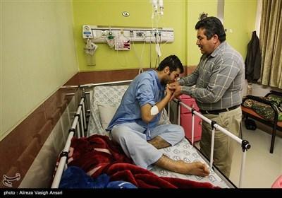 لحظه سال تحویل در بیمارستان سیدالشهدا اصفهان