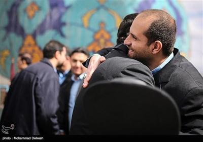 لحظه ی سال تحویل در امام زاده صالح(ع)