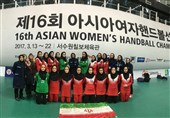 Asian Women's Handball Championship: Iran Comes Sixth