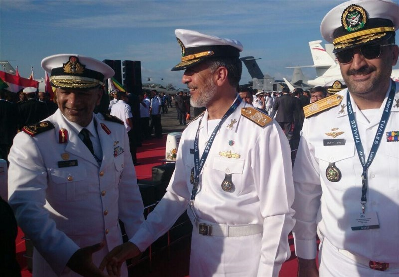 دیدار فرمانده نداجا با فرماندهان نظامی کانادا، ایتالیا، استرالیا و امارات + تصاویر بازدید از نمایشگاه