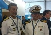 بازدید دریادار سیاری از نمایشگاه