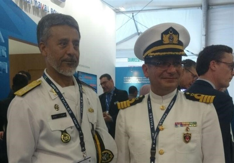 Iran's Navy Commander Holds Talks with Foregin Military Officials in Malaysia