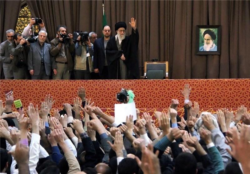ایرانی قوم اقتصادی مشکلات کے باوجود شادمان رہی