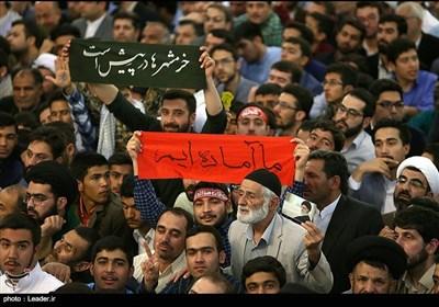 سخنرانی نوروزی رهبر معظم انقلاب در حرم مطهر رضوی