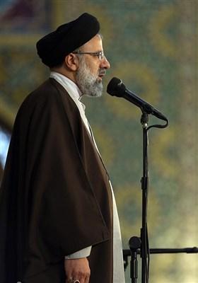 سخنرانی آیت الله رئیسی تولیت آستان قدس رضوی در اجتماع عظیم زائران و مجاوران حرم رضوی