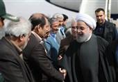 روحانی: تعزیز علاقات ایران وروسیا یصب فی مصلحة المنطقة