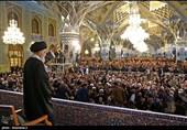 قراری بر دلهای بیقرار مسلمانان؛ لحظهشماری زائران حریم شمسالشموس برای دیدار با امام خامنهای
