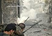 درگیری ارتش سوریه با تروریستها