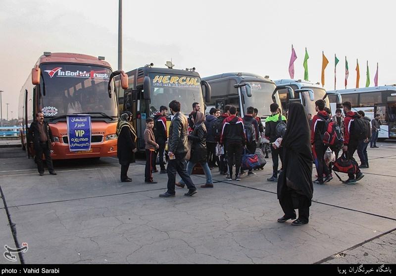 آماده باش ناوگان اتوبوسرانی استان البرز برای بازگشت زائران حسینی از کربلا