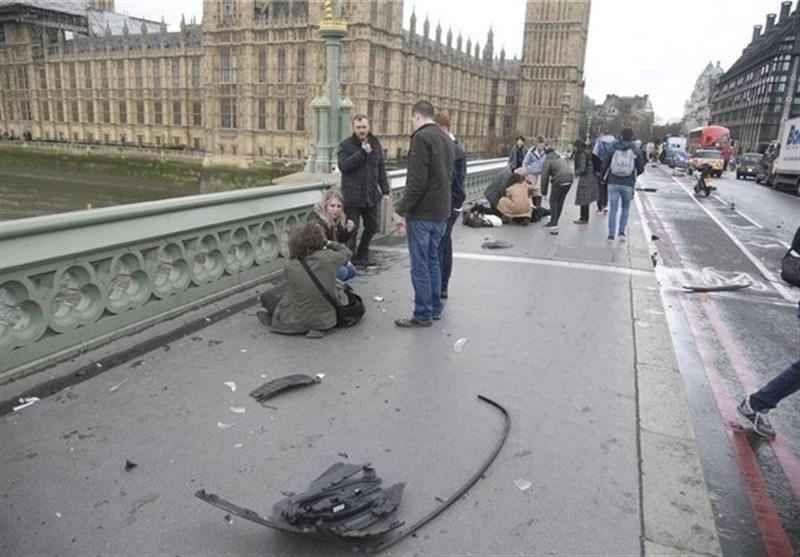 تصاویر حمله تروریستی در نزدیکی پارلمان انگلیس
