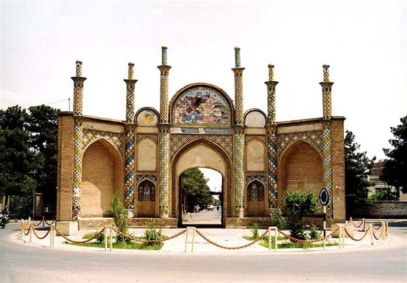 """""""ارگ سمنان """" شاهکار معماری سنتی و زیباترین دروازه ایران+تصاویر"""