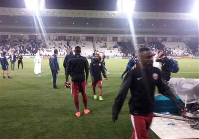اعتراض شدید بازیکن قطر به خوشحالی کیروش/ دلداری منتظری به قطریها