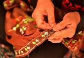 سیستان و بلوچستان رنگین کمان صنایع دستی بینظیر/ هیچ مسافری دست خالی بر نمیگردد+تصاویر