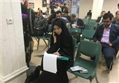 فاطمه صالحی دختر سرلشکر صالحی فرمانده کل ارتش