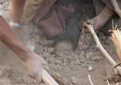 خزانهای که با کودککشی عربستان در یمن پر میشود